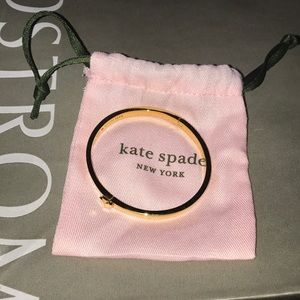 Kate Spade hinge bangle